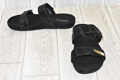 c05c080c9923 VIONIC JURA SANDALS - Women s Size 8.5 - Black DAMAGED -  32.00 ...