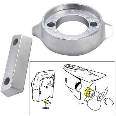 Tecnoseal Anode Kit Volvo 290 with Hardware Zinc Polybag #20705