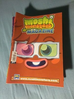 Moshi Monsters Magazine Issues No. 7 To 51 - All In Good Condition, Super Rare.