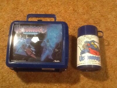 Aladdin Lunch Box Thermos Visionaries Knights of the Magical Light 1987 Hasbro