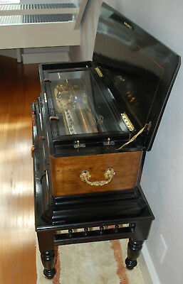 Antique Musicbox & Table