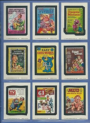 WACKY PACKAGES SERIES 11 COMPLETE SET 30 of 30 NMMT SHARP!