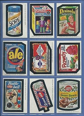 WACKY PACKAGES SERIES 13 COMPLETE SET 30 of 30 NMMT SHARP!!