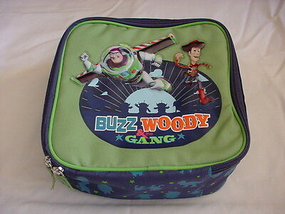 DISNEY TOY STORY BUZZ WOODY Lunch Tote Lunchbox Shoulder Strap HTF NEW