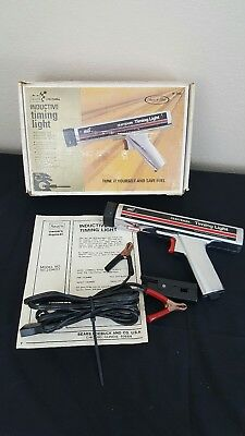 VTG Inductive Timing Light 28-2134 Sears Craftsman Box, Manual Cords Included