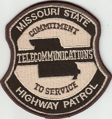 Missouri State Police Highway Patrol (Older) Telecommunications Patch Mo