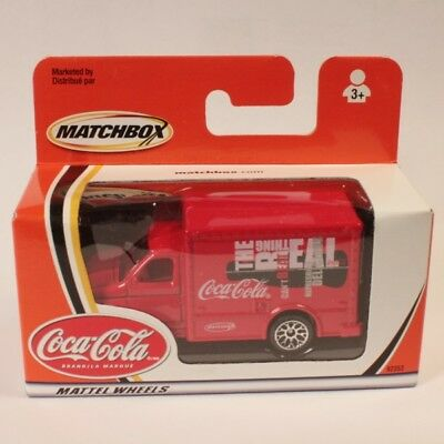 Matchbox Coca Cola Coke Ford Box Van, Red Delivery Truck, ** New in Box **