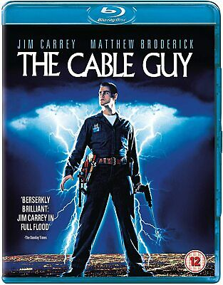 The Cable Guy (1996) Jim Carrey IMPORT Blu-Ray BRAND NEW Free Ship