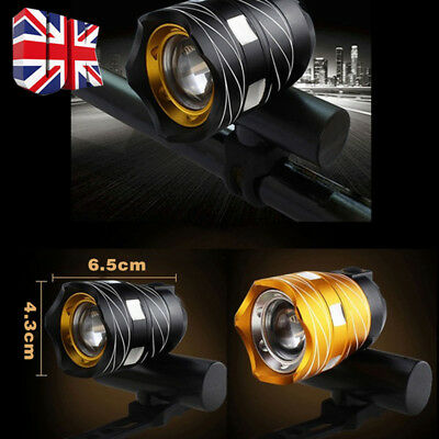 USB Rechargeable XML T6 LED Bicycle Bike Front Lamp Cycling Head Light Torch UK