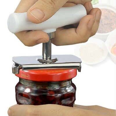Can Opener Jar Bottle Adjustable Manual Stainless Steel Easy Kitchen Tool S V6O8