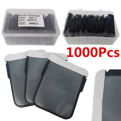 1000Pcs Size 2 Dental Digital X-Ray ScanX Barrier Envelopes for Phosphor Plates