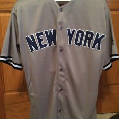 san francisco 051d6 f3add NEW MAJESTIC BABE Ruth New York Yankees Jersey Men's L Free Shipping