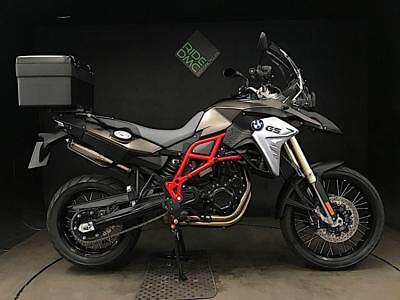 Bmw F800Gs 17. Only 802 Miles. Esa. Asc. Abs. Modes. Serviced. 1 Owner Top  Box