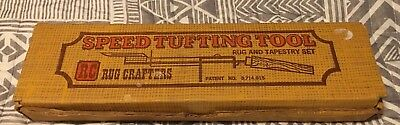 Rug Crafters Speed Tufting Tool Punch Set with Instructions
