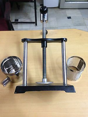 NEW Tincture Press Lab Analytical Instruments ISO certified free shi HEALTH CARE