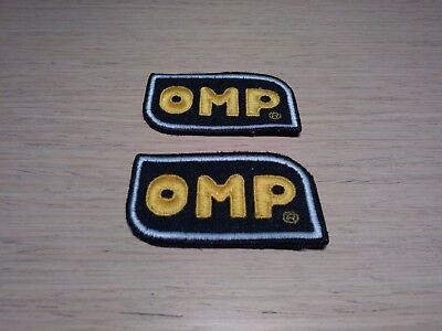 OMP TOPPA ricamata Patch kit 2 toppe