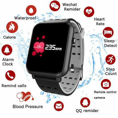 Q8mini IP67 Smartwatch Bluetooth Telefono Reloj Inteligentes Para Android iOS