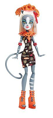 Monster High Ghouls Getaway MEOWLODY Doll  Daughter of the Werecat NEW In Box