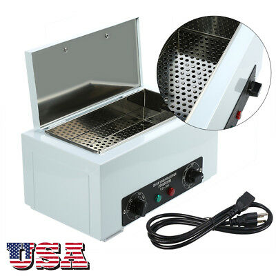 110V Dental Lab Heat Cabinet Autoclave Hot Dry High Temperature Sterilizer Tools