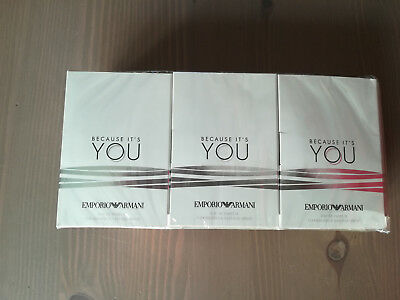 Emporio Armani - Because It's You - Eau De Parfum - 12 Echantillons - 14,4Ml