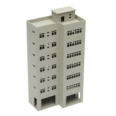 1/87 Outland Models Modern Tall Business Office Building For Sandbox HO Scale