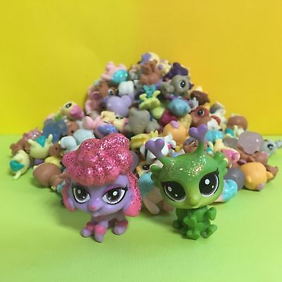 10pcs Littlest Pet Shop LPS Mini Baby Toy Send Random+ Fairy & Dog Figure