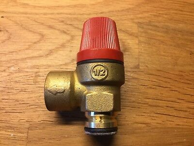Alpha HE CB25 CB33 /& SYS25 3 Bar Pushfit Pressure Relief Safety Valve 1.011126
