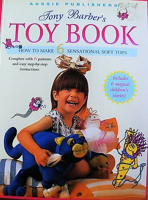 Tony Barber`s TOY BOOK with 6 patterns.