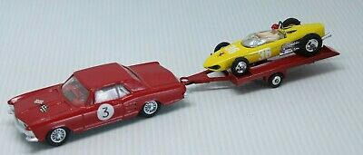 Corgi Toys * Buick Riviera & Ferrari Formula One Set * 1:43 * Red / Yellow
