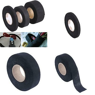 Am_ 15M Adhesive Cloth Fabric Tape Cable Looms Wiring Harness For Car Auto Faddi