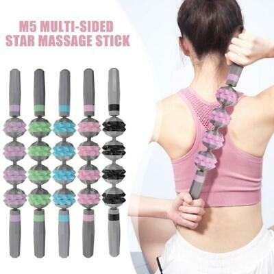 Exercise Massage Stick Roller Leg Body Back Muscle Trigger Point Yoga Massager