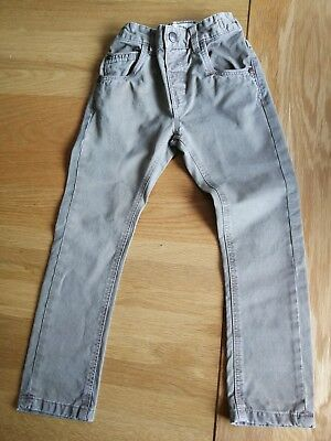 Boys Faded Stone Colour Trousers Chinos Age 3-4