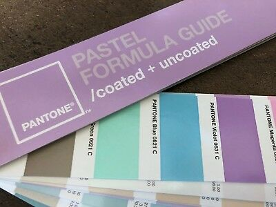 Pantone-Farbfächer  |  Pastel Formula Guide  |  Coated + Uncoated