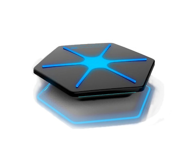Attom Tech Wireless Charger Qi Charging Pad Station Mat Hexagon Base 7.5W