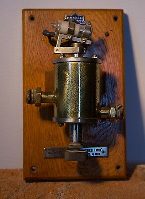Vintage Flow Rate Control Device with a Mercury Switch by Unicam Instruments