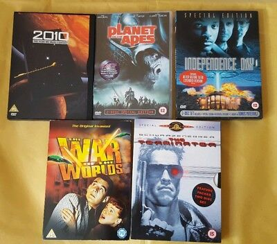 Science Fiction DVD Collection. Terminator. Planet of the Apes