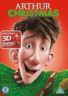 Arthur Christmas - DVD **NEW SEALED** FREE POST**