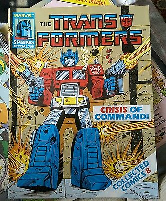 The Transformers Spring Special - Collected Comics #8 Marvel-  April 1988