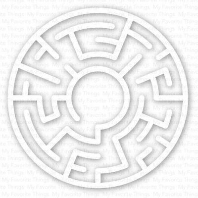 My Favorite Things - Maze Shapes - White 5 per pack