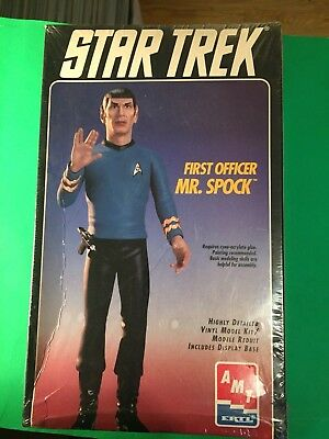 1995 AMT Mr.SPOCK  vinyl model kit #8704. New Sealed unopened.