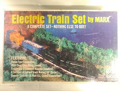 Rare Vintage Electric Train Set By Marx Complete Set #4205 O Scale         tr600