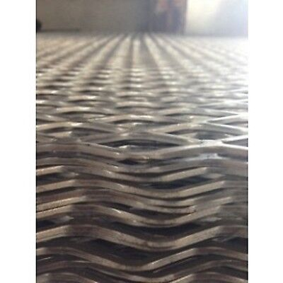 """Expanded Steel 3/4"""" #13 Flat - 24"""" x 48"""""""