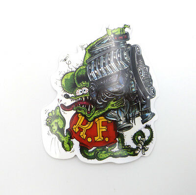 Rat Fink Decal Ed Roth Vintage Classic Vinyl Big Daddy Skateboard Stickers