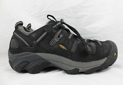 Keen Utility Work Footwear Atlanta Cool Steel Toe Black Size 7 D NEW IN BOX