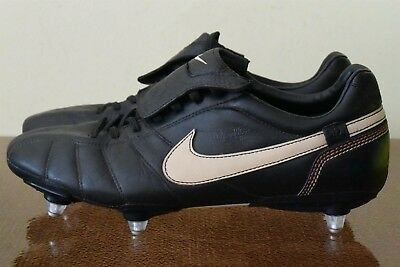 Nike Tiempo Ronaldinho 10R Retro Football Boots Leather Cleats Sz 11  315360-027 36d622ee8