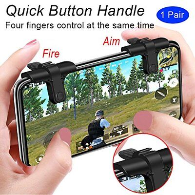 Sensitive Shoot and Aim Buttons L1R1 Trigger Buttons Mobile Game Controller NEW