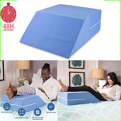 Vaunn Medical Bed Wedge Elevated Leg Lift Pillow Aligns Spine