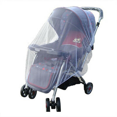 1X Baby Buggy Pram Mosquito Cover Net Pushchair Stroller Bug Insect Prevent BJ