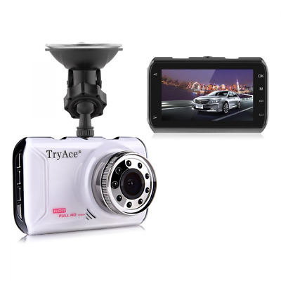 1080P Full HD Car DVR Screen Night Vision Touch Stop Monitoring