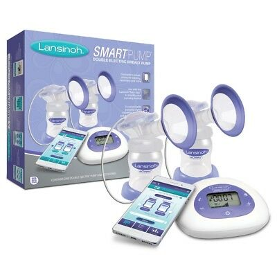 Lansinoh SmartPump Double Electric Breast Pump Brand  NEW SEALED